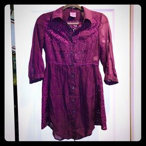 NWOT Free People tunic top size 0